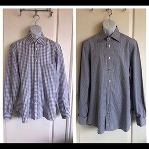 Kiton Dress Shirts -set of 2-